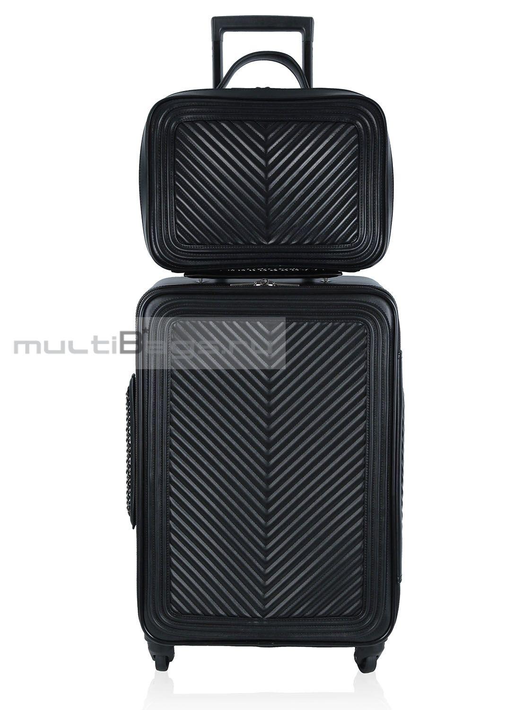 92c2abf47e95 Купить чемодан CHANEL 11.12 чемодан и ручная кладь, цвет черный в ...