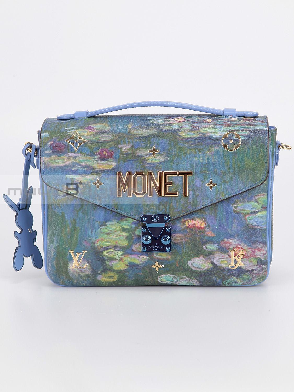 c95fcfe9c0a3 Купить женскую сумку LOUIS VUITTON Metis Monet, цвет голубой в ...