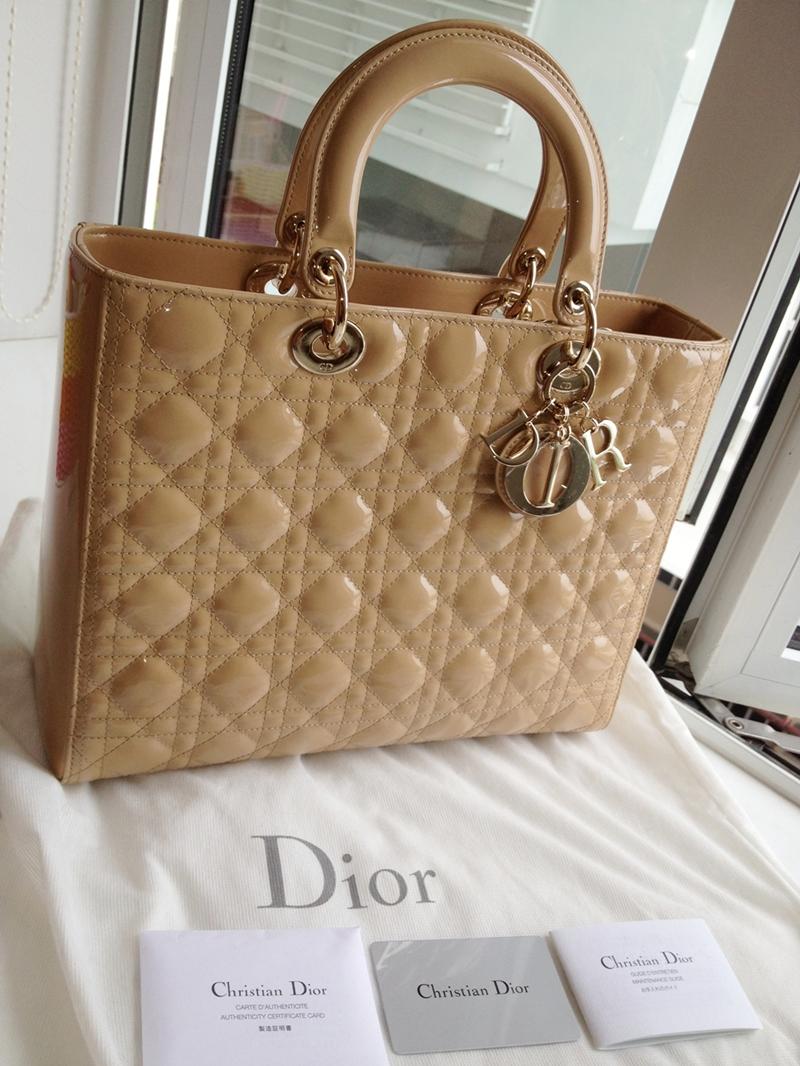 Dior lady dior сумки